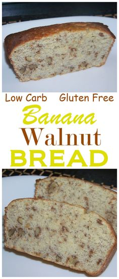 This gluten free banana nut quick bread adds one banana to limit carbs. Each generous slice has only 5 grams of net carbs so it can be enjoyed while maintaining a low carb high fat keto diet.