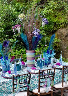 Peacock Decor, Peacock Theme, Peacock Wedding, Peacock Birthday Party, Birthday Party Decorations, Wedding Decorations, Unicorn Birthday, Dream Wedding, Wedding Day