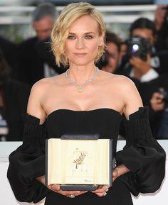 Diane Kruger en bijoux Chopard pour la cérémonie de clôture