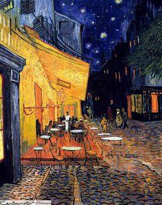 """Винсент Ван Гог, """"Терраса ночного кафе"""""""