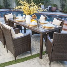 7-Piece Nathaniel Patio Dining Set