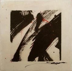 @Karen Jacobs - bukusho series  -  the term bokusho refers to abstract sumi-e or calligraphic drawings