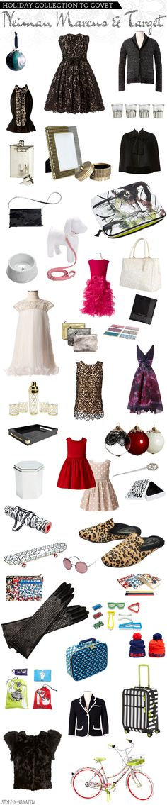 STYLE'N-a personal style blog - STYLE'N - Holiday Collection To Covet- Neiman Marcus & Target