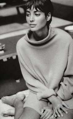 Chrisy Turlington - knit Grandeur: Funneled