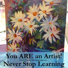 Never stop learning as an artist! Lucia Hames shares a trip she took to Italy to learn and explore art. She shares artistic encouragement with you!