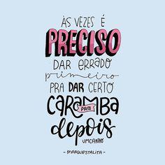 Aí às vezes a gente fico mega desesperado né? Achando que tudo tá uma merda e que nada dá certo. Confia. Pensamento positivo só leva a gente pra frente. E ó, tudo vai dar muito certo! ✨. #marquestalita (at Rio de Janeiro, Brazil)