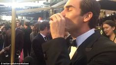 Roger Federer toasts Oscars with a tequila
