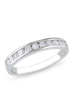 0.5 CT Diamond Eternity Ring In 10k White Gold--- yes please