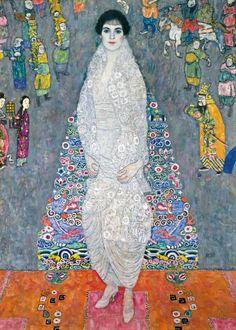 Gustav Klimt, Portrait of Elisabeth Lederer, 1914-1916