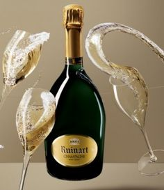 Ruinart Champagne, The World's Oldest Champagne  Featured in this months issue. Bubbles, Bubbles, Bubbles.