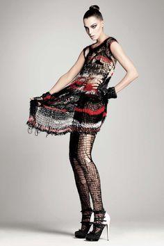 Dress by Rodarte, shot for US Vogue, July 2008. Courtesy of The Metropolitan Museum of Art, photograph © David Sims