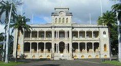 Lolani Palace in Oahu, Hawaii.