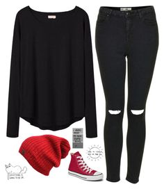 """Untitled #114"" by chill-outfits ❤ liked on Polyvore featuring Organic by John Patrick, Topshop and Converse"