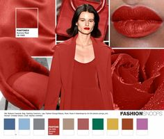 Paleta inspiracional da Pantone - moda outono/inverno 2016;