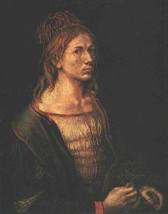 'Autoportret' von Albrecht Durer (1471-1528, Germany)