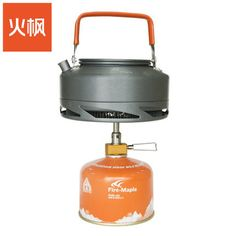 火楓戶外品茶特惠套裝盛宴XT1茶壺116一體爐頭超輕野營集熱燒水壺