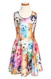 Zara Terez 'Puppiez' Skater Dress (Big Girls)...perfect for the puppy loving girl.