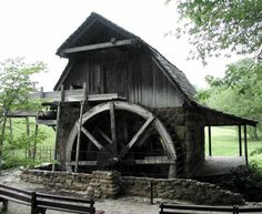 "Fowler Park Mill. ""My great grandparents cabin is the first one put here in this park, which now has Pioneer Days."".  ...dl  ***Southwest of Terre-Haute (I-70) about 7 miles. Vigo County - Indiana."