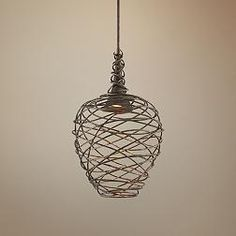 Sanctuary 19 3/4-Inch-W Cottage Bronze LED Pendant Light