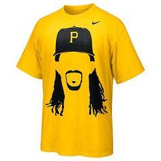999ff1af3b60 Nike Hair-Itage (Andrew McCutchen) Men s T-Shirt Pittsburgh Pirates  Baseball