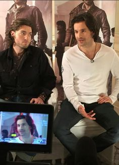 Tom Burke & Santiago Cabrera - Paris