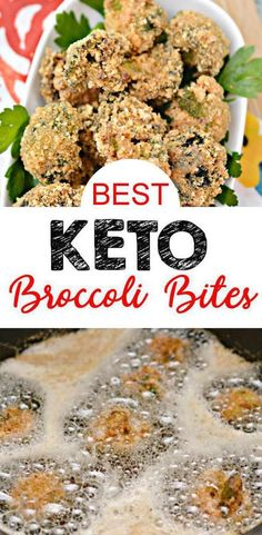 Looking for the BEST keto broccoli recipe? Here is a tasty and delicious fried garlic parmesan broccoli bites recipe to fit a low carb diet. Keto friendly appetizer or snack that is crispy and crunchy packed with a bit of garlic & seasoning Keto Broccoli Recipe, Broccoli Bites, Appetizer Recipes, Appetizers, Football Party Foods, Garlic Parmesan, Keto Snacks, Keto Dinner, Ketogenic Diet