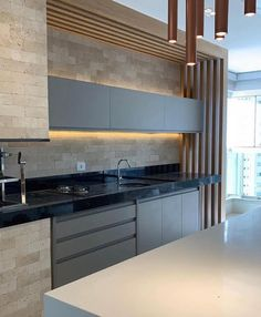 Some Kitchen Views❣️ Good food and a warm kitchen are what makes a house a home. Luxury Kitchen Design, Kitchen Room Design, Best Kitchen Designs, Kitchen Cabinet Design, Luxury Kitchens, Home Decor Kitchen, Interior Design Kitchen, Cool Kitchens, Warm Kitchen