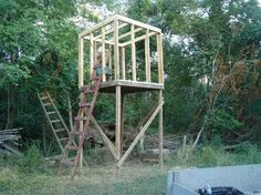 Not So Little Deer Blind In The Woods Nice Stand