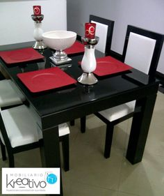 Comedor cuadrado Table, Furniture, Home Decor, Dining Rooms, Chairs, Homemade Home Decor, Tables, Home Furnishings, Interior Design