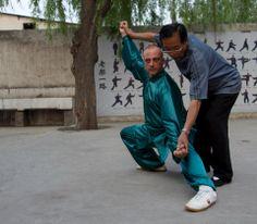 Wang Xian Chenjiagou Taijiquan Italy - Marcello Sidoti with G.M. Wang Xian