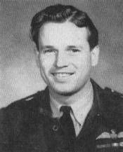 """Wing Commander Guy Penrose Gibson VC, DSO & Bar, DFC & Bar, RAF (12 August 1918 – 19 September 1944), was the first CO of the Royal Air Force's 617 Squadron, which he led in the """"Dam Busters"""" raid (Operation Chastise) in 1943, resulting in the destruction of two large dams in the Ruhr area. He was awarded the Victoria Cross and died later in the war. He had completed over 170 operations at the age of 24 and was affectionately known as 'The Arch-Bastard' by his squadron."""
