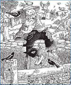 Scarecrow Hidden Pictures