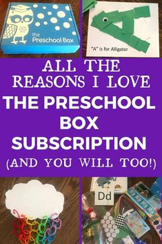Wondering if The Preschool Box is right for your preschooler? Check out my review of The Preschool Box to see if this preschool subscription box is right for your family! The Preschool Box is not only a box of early learning crafts & activities it can also be used as part of an at home preschool curriculum! Learn more in The Preschool Box review! #ThePreschoolBox #ThePreschoolBoxReview #preschoolsubscriptionbox