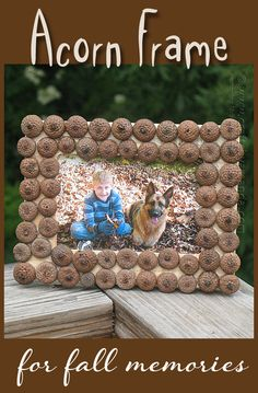 This is a great craft to do with kids. I think it would look great painted with gold metallic paint, too!