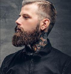 Great Beards, Awesome Beards, Moustaches, Bearded Tattooed Men, Bearded Men, Beard Tips, Perfect Beard, Beard Lover, Beards