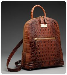 Brahmin, My absolute favorite handbags ever. Too bad they are so pricey. But they last forever. Brahmin Handbags, Brahmin Bags, Purses And Handbags, Backpack Purse, Leather Backpack, Leather Bag, Beautiful Bags, My Bags, Crocodile
