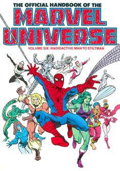 The Official Handbook of the Marvel Universe Volume Six: Radioactive Man to Stiltman - Paul Ryan, Colors - Bob Sharen