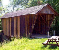 Stovall Mill Covered Bridge Helen, GA