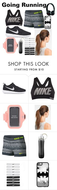 """""""Untitled #2"""" by lex72902 on Polyvore featuring NIKE, Forever 21, L. Erickson, Casetify and Beats by Dr. Dre"""