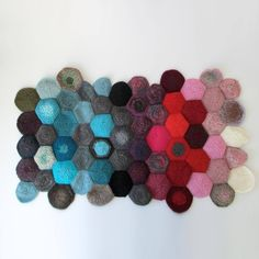 Cute project to use up your extra yarn #DIY #crafty #knitting