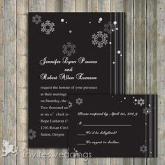 winter wedding ideas snowflake wedding invitations - Katie, not sure if you still want a winter wedding but I thought these were cute! Snow Wedding, Christmas Wedding, Our Wedding, Dream Wedding, Cute Wedding Ideas, Perfect Wedding, Wedding Styles, Wedding Inspiration, Wedding Invitations Online