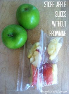How to Make Apple Slices That Won't Brown