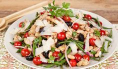 Artichoke & Green Bean Salad