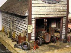 Car diorama's