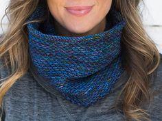 Honey Cowl Knitting Kit by Ann Maria featuring MadelineTosh DK Yarn   Craftsy
