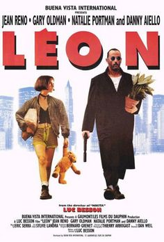 """Leon"" - Luc Besson with Jean Reno, Natalie Portman."