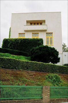 Villa Müller, Prague by Adolf Loos.