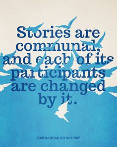 Tell Me a Story - Scott McClellan #Story