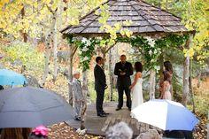 sorensens resort wedding ceremony Hope Valley!!