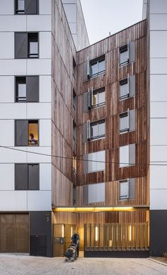 Gallery - Mixed Use 107 Apartement Units / Nunc Architectes - 13
